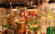 used-glassware-tableware-glasses-reuse-recycle-store-kagoshima